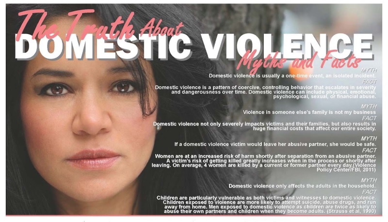 Domestic Violence facts versus myths